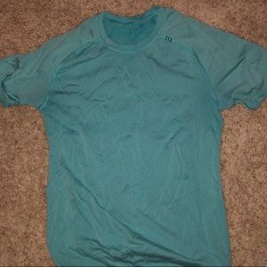 Light Blue Lululemon athletica T-shirt